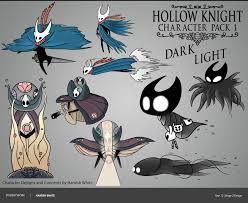 Hollow Knight Character Design Artstation Hollow Knight Character Concepts Hamish Taylor