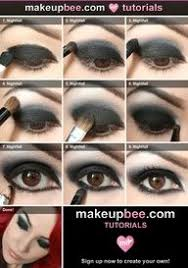 step by step tutorial for nightfall vire eyes cake