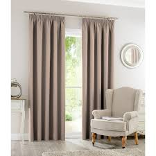 silentnight blackout fully lined curtains 66 x 90