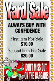 9 Tips To Write A Catchy Garage Sale Ad That Attracts Hoards Of