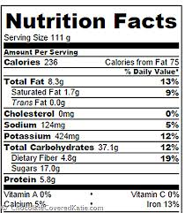 nutrition information above is based on each of 10 servings as seen in the photos in the post based on gram merements and vegan chocolate chips