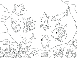 breathtaking coloring pages rainbow fish stunning kids with and breathtakingng pages rainbow fish printable with of free preers pictures full size