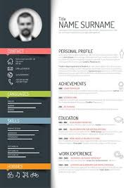 Graphic Resume Templates Enchanting Cool Resume Templates Free Download Modern Creative Resume Templates