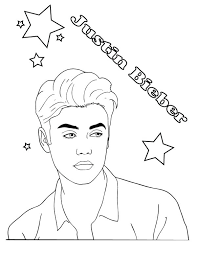 coloring pages of justin bieber coloring page coloring pages coloring