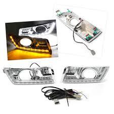 2012 Cadillac Srx Fog Lights Amazon Com Timmart 3 Color Fog Lamp Led Daytime Running
