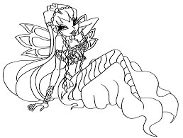 Small Picture Winx Club Coloring Pages and Book UniqueColoringPages Coloring