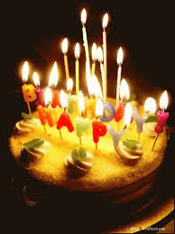 Happy Birthday Cake Gif Images Bday Wishes Cakes