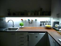 view images led kitchen strip lights under cabinet home design ideas for