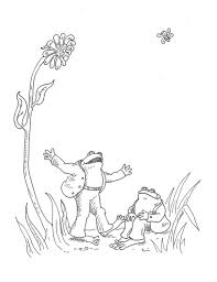 Small Picture Frog And Toad Coloring Pages