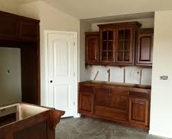 Staining Kitchen Cabinets Darker Sherwood Chestnut Stain On Kitchen Cabinet I Love My Dark Kitchen