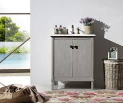 rustic gray bathroom vanities. Abel 30 Inch Rustic Grey Wash Bathroom Vanity Marble Top Gray Vanities