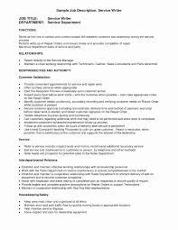 Hospitality Management Resume Inspirational Resume Writing Service