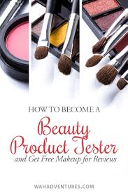 32 ways to bee a beauty tester and get free makeup for reviews