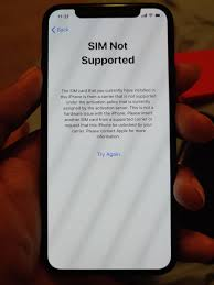 Pull the tray outward and remove the sim card. Trying To Get My Iphone X Formerly Leased But Paid Off From Sprint Unlocked Tried A T Mobile Sim But Showed This Screen What Should I Do Next Sprint