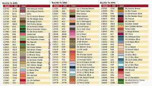 Bucilla To Dmc Conversion Chart Bucilla Dmc 5 Cross Stitch Tutorial Dmc Embroidery