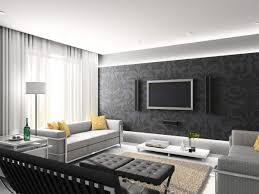 modern black white. plain black living roomfashionable modern black and white room decor idea  minimalist design on a