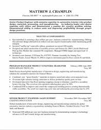 Industrial Resume Format Free Sample Industrial Design Resume