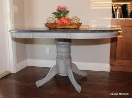 ebony and grey dining table