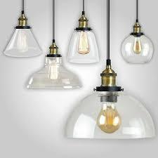 vintage glass pendant ceiling light