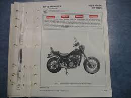 vtc shadow vt c honda factory oem assembly set up manual 84 vt700c shadow vt700 c honda factory oem assembly set up manual wiring diagram