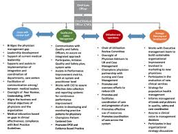 Florida Hospital Organizational Chart Changing Roles And Skill Sets For Chief Medical Officers
