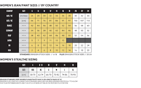 Draggin Jeans Size Chart Sizing Guides Dragginjeans Net