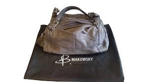 bmakowsky grey purse