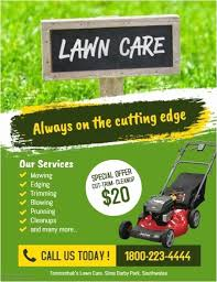 Lawn Care Flyer Template Word Lawn Care Flyer Template Word Inspirational Landscaping Flyer
