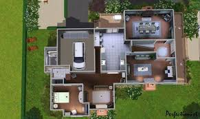 22 cool sims 2 house floor plans