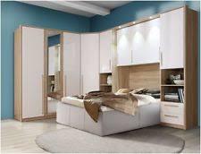 overhead bedroom furniture. cologne overbed unit wardrobe white gloss u0026 oak bridge bedroom furniture fitment overhead