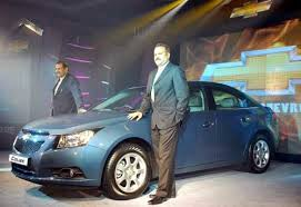 gm new car releasesGeneral Motors India new car Chevrolet Cruze launch in Mumbai