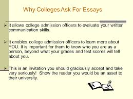 writing effective essays ppt why colleges ask for essays