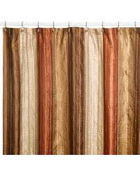 brown fabric shower curtains. Manor Hill Sierra Copper 72\ Brown Fabric Shower Curtains