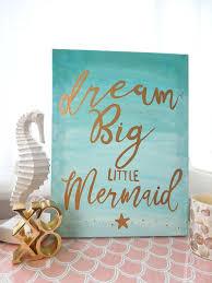 little mermaid wall decor like this item little mermaid wall decorating kit