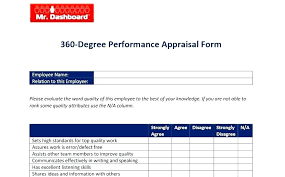 What Is Performance Evaluation Form Stunning Performance Review Template Best Of Degree Evaluation 44 Appraisal
