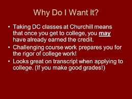 How To Make Good Grades Dual Credit What Is It Why Do I Want It How Can I Get It Ppt