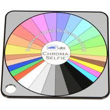 Dsc Labs Chroma Selfie Field Chart Pocket