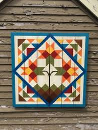 How I made my own Barn Quilt | Beautiful Barn Quilts | Pinterest ... & This website has a photo gallery of 67 barn quilt block designs. Adamdwight.com