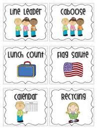 Free Printable Helper Charts Classroom Jobs Free
