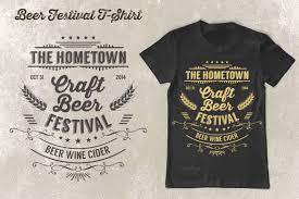 Festival T Shirt Design Beer Festival T Shirt Vol 2 By Rooms Design Shop On