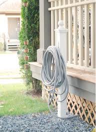 diy hose reel hose post 100 things 2 do