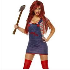 costume dresses chucky seed of chucky costume