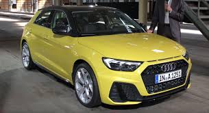 2019 Audi A1 Sportback All The Details Full Gallery And A
