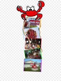 King Crab Pot Design Crab Cartoon Png Download 435 1200 Free Transparent