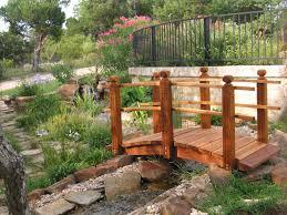 diy woodworking garden bridge ideas projects
