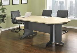 wooden small conference table