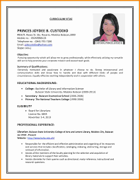 Curriculum Vitae Examples Magnificent 48 Curriculum Vitae Examples For Job Theorynpractice