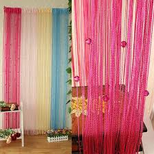 sheer curtains beaded string line curtain window door panel room divider curtain curtain exchange sheer curtain panels from wedi011 4 9 dhgate com