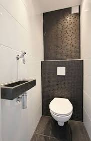 small guest toilet design natural organic - Google Search More