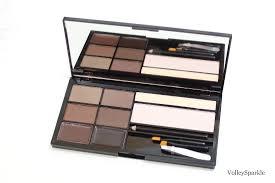 makeup revolution ultra brow palette in um to dark